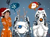Free Games Wallpaper : Portal 2 - Xmas