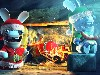 Free Games Wallpaper : Rabbids - Christmas