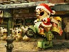 Free Games Wallpaper : Raving Rabbids - Christmas