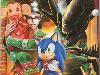Free Games Wallpaper : Sega - Christmas Card