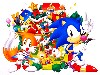 Free Games Wallpaper : Sonic - Christmas