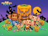 Free Games Wallpaper : Super Monkey Ball Step and Roll - Halloween