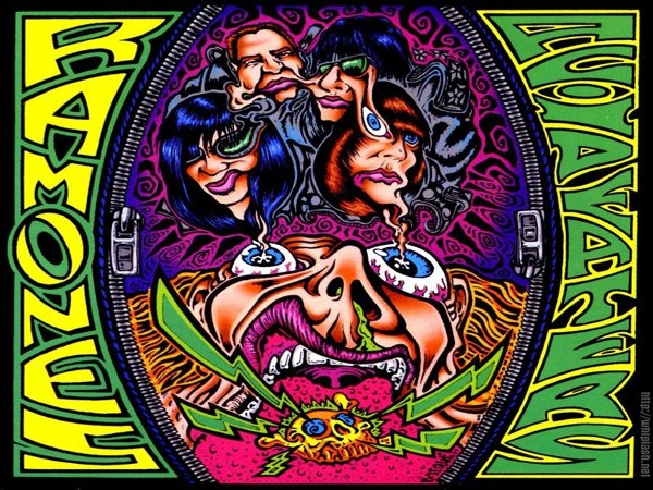 My Free Wallpapers - Music Wallpaper : Ramones