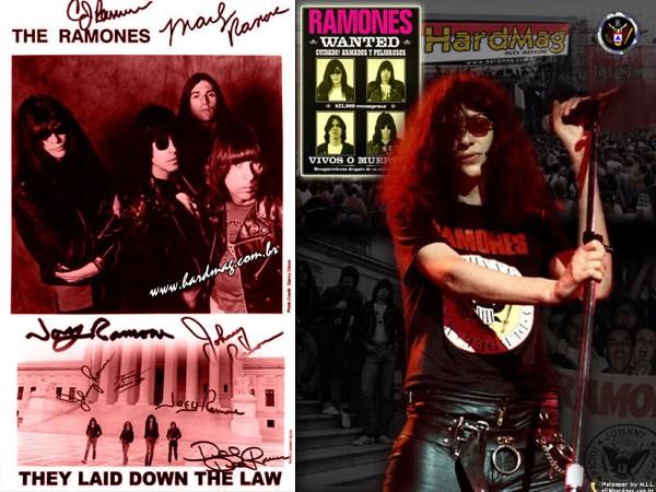 My Free Wallpapers - Music Wallpaper : Ramones - Joey Ramone