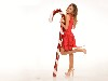Free Music Wallpaper : Ariana Grande - Christmas
