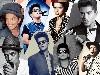 Free Music Wallpaper : Bruno Mars - Collage