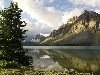 Free Nature Wallpaper : Bow Lake - Canada