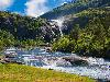 Free Nature Wallpaper : Falls and River