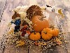 Free Nature Wallpaper : Halloween - Pumpkins and Scarecrows
