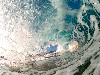 Free Nature Wallpaper : Inside Wave (by Clark Little)