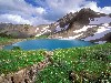 Free Nature Wallpaper : Mountain Lake