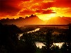 Free Nature Wallpaper : Sunset Landscape