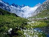 Free Nature Wallpaper : Unteraargletscher - Switzerland