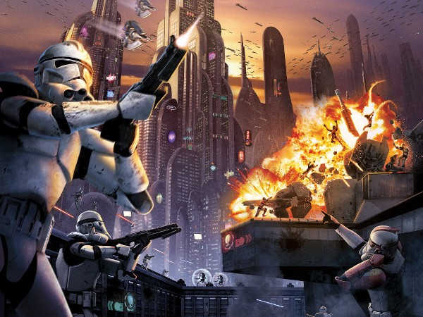 My Free Wallpapers Star Wars Wallpaper Battlefront Battle For Coruscant