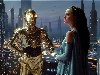 Free Star Wars Wallpaper : Amidala and C-3PO