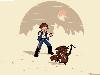 Free Star Wars Wallpaper : Ash Solo and Chewkachu