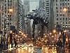 Free Star Wars Wallpaper : AT-AT in Chicago