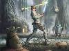 Free Star Wars Wallpaper : Dagobah - Training