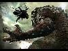 Free Star Wars Wallpaper : Darth Maul vs Rancor