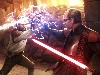 Free Star Wars Wallpaper : Duel at the Valley of the Jedi (by Darren Tan)