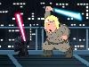 Free Star Wars Wallpaper : Family Guy - Lightsaber Duel