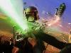 Free Star Wars Wallpaper : Fett vs Luke