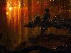 Free Star Wars Wallpaper : Endor Sunset (by Morgan Yon)