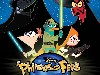 Free Star Wars Wallpaper : Phineas & Ferb - Star Wars