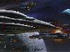 Free Star Wars Wallpaper : Ralph McQuarrie - Battle of Endor