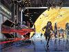 Free Star Wars Wallpaper : Ralph McQuarrie - Imperial Hangar