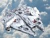 Free Star Wars Wallpaper : Millenium Falcon