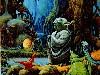 Free Star Wars Wallpaper : Yoda - Dagobah