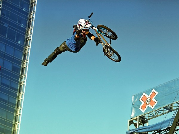 My Free Wallpapers - Vehicles Wallpaper : BMX - Freestyle X Games Bmx Wallpaper