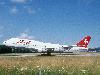 Free Vehicles Wallpaper : 747 - Swissair