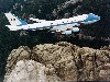 Free Vehicles Wallpaper : Air Force One - Over Mt. Rushmore