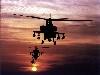 Free Vehicles Wallpaper : Apaches at Dusk