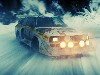 Free Vehicles Wallpaper : Audi - Snow Drift