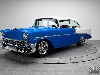 Free Vehicles Wallpaper : Blue Cadillac