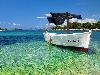 Free Vehicles Wallpaper : Boat - Tropical Paradise