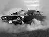 Free Vehicles Wallpaper : Dodge Charger - Burning Rubber