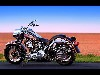 Free Vehicles Wallpaper : Harley Davidson - Fat Boy