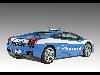 Free Vehicles Wallpaper : Lamborghini Gallardo - Polizia