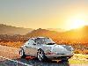 Free Vehicles Wallpaper : Porsche - Sunset