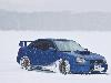 Free Vehicles Wallpaper : Subaru - Snow