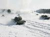 Free Vehicles Wallpaper : Tanks - Snow